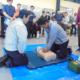 全体ミーティング&AED講習 R1.11.2
